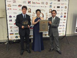 Upwards recebeu o Prêmio Quality Diamante