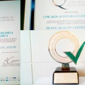 A Upwards foi premiada pelo LAQI pelos êxitos obtidos em Gestão de Mudanças